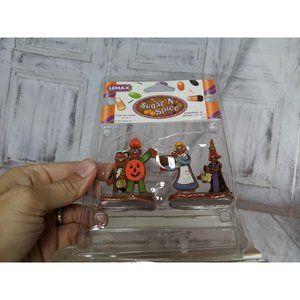 Lemax 2005 Sugar N Spice TRICK OR TREAT Set of 2 H